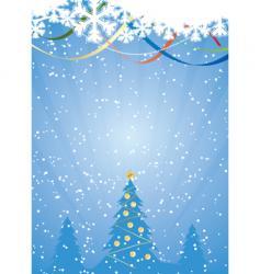winter snowflake vector image vector image