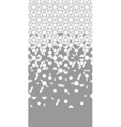 Arabesque repeating border geometric vector