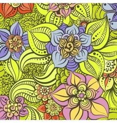 Bright floral vector