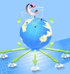 e commerce concepts vector image