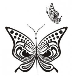 fancy butterfly vector image
