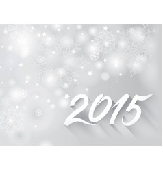 christmas holiday background snow blurred vector image