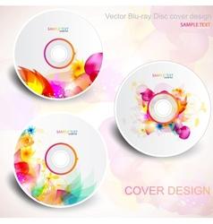 flora cd design vector image