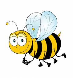 just bee vector image