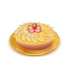 wonderful pie vector image