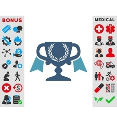 Award Cup Icon vector image
