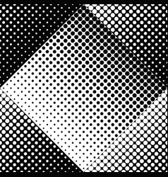 black and white seamless abstract dot pattern vector image