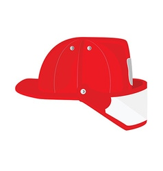 Firefighter helmet vector