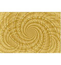 Golden spiral background vector
