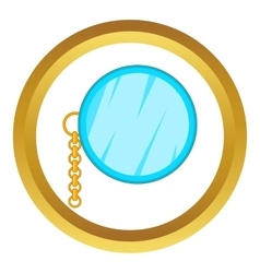 Monocle icon vector