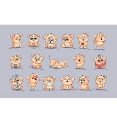 Set of Dogs vector