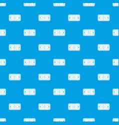 stadium pattern seamless blue vector image