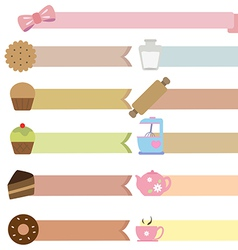 tag bakery vector image