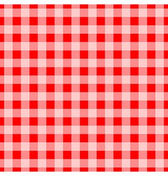 seamless checkered texture vector image vector image