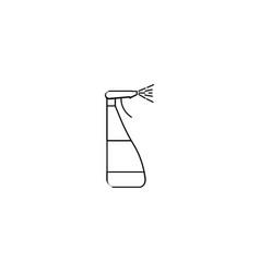 window cleaner spray icon vector image