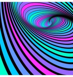 whirl spiral movement vector image