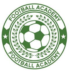 Football academy logo vector