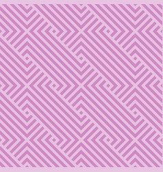 geometric seamless pattern striped textur vector image