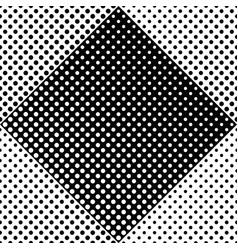 geometrical dot pattern background - monochrome vector image