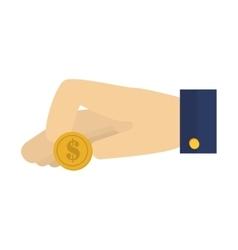 money dollar cash design vector image