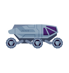 space rover robotic autonomous vehicle cosmos vector image