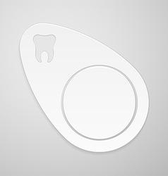 Stomatology emblem vector