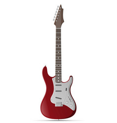 electric guitar stock vector image vector image