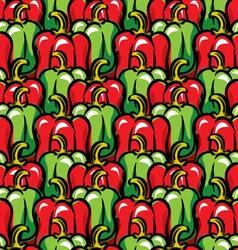 paprika background vector image vector image