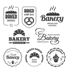 Bakery labels 2 vector