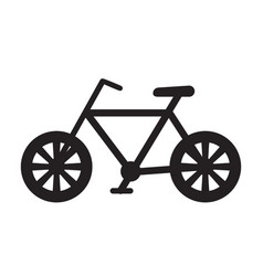 bicycle icon image vector image