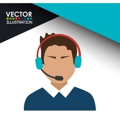 Call center agent vector