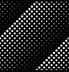 monochrome geometrical seamless dot pattern vector image