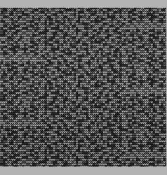 Seamless black motley background vector
