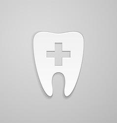 Symbol stomatology clinic vector image