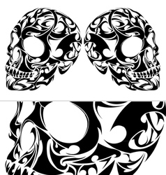 Tribal Skull vector