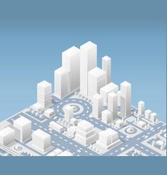 city urban vector image