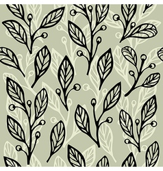 Floral seamless pattern 2 vector image vector image