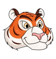 Tiger head 2 vector