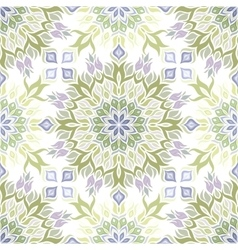 Colored light pattern with vegetative elements vector image