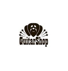 Acoustic guitar pick vector
