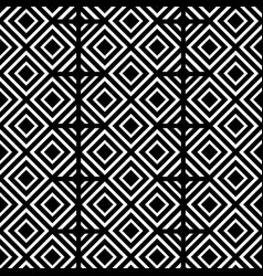 Black and white geometric shapes background vector