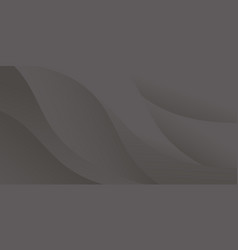 Dark black abstract background vector