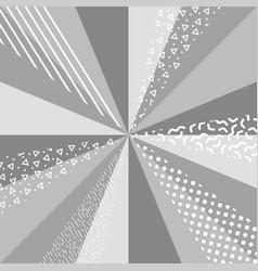 grey scale retro background vector image