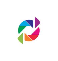 pixel art design logo vector image