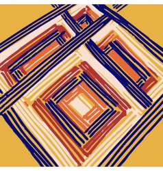 Rectangle mandala vector