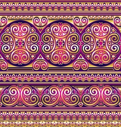 silk asian seamless vector image