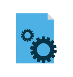 Site and gear design vector