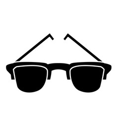 sunglasses isolated symbol vector image