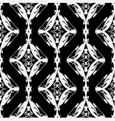 vintage ethnic style seamless pattern tribal vector image