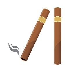 Cigar vector image vector image